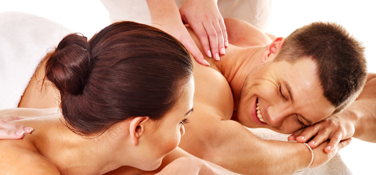 Couples massage for only $99.98 with an extra 10 minutes free! That's 70 full minutes!