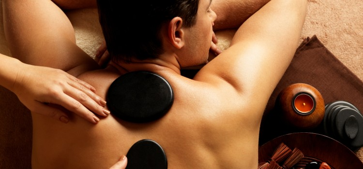 Hot stone massage and foot scrub package. Only $59.00!